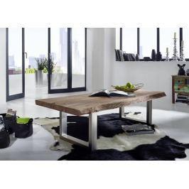 Masiv24 - METALL konferenční stolek akátový nábytek