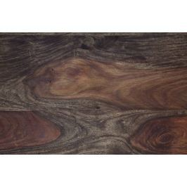Masiv24 - PLAIN SHEESHAM vzor, olejovaný indický palisandr, šedá