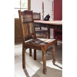 Masiv24 - COLORES židle lakované staré indické dřevo