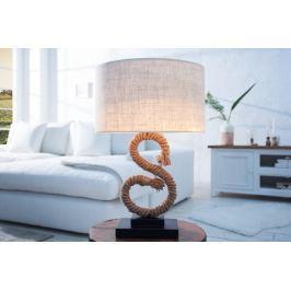 Masiv24 - Stolní lampa SEASS 50 cm - hnědá