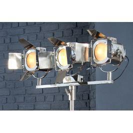 Masiv24 - Stojací lampa LAX 185 cm - stříbrná