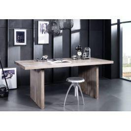 Masiv24 - ROUND Jídelní stůl 197x100cm indický palisandr