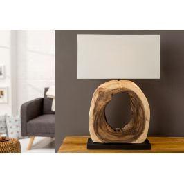 Masiv24 - Stolní lampa COKLE – přírodní
