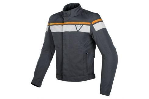 Dainese bunda BLACK-JACK D-DRY vel.52 šedá/krémová, textilní Bundy na motorku