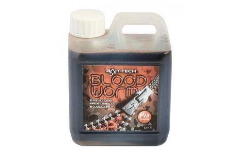 Bait-Tech Tekutá zálivka Bloodworm Liquid 1 l Boostery, posilovače, spreje