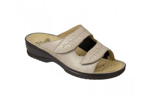 Scholl Zdravotní obuv BERNADETTE - béžová (Velikost vel. 36) Zdravotní obuv