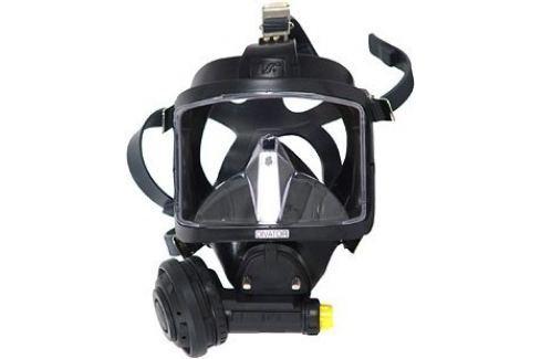 INTERSPIRO Maska celoobličejová DIVATOR MK II AGA černá - podtlak Potápěčské brýle, masky