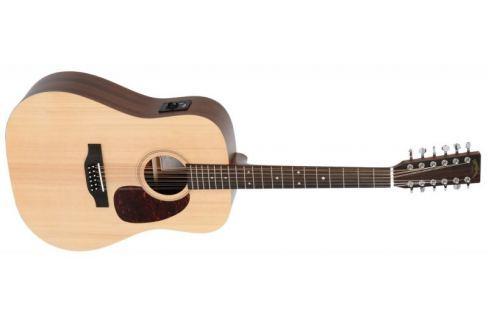 Sigma Guitars DM12E Dvanáctistrunná elektroakustická kytara Akustické kytary