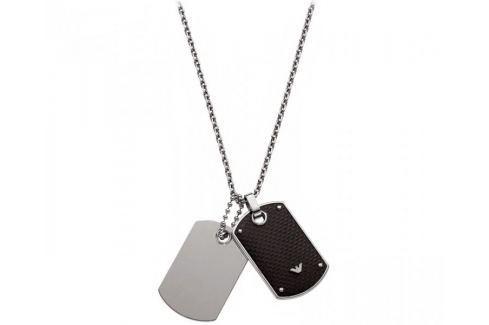 Emporio Armani Pánský náhrdelník s přívěsky EGS1601040 Náhrdelníky