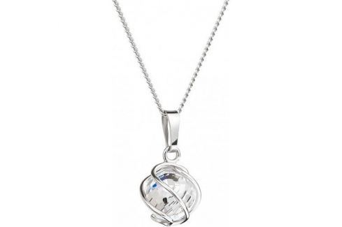 Preciosa Náhrdelník Romantic Beads Crystal AB 6715 42 stříbro 925/1000 Náhrdelníky