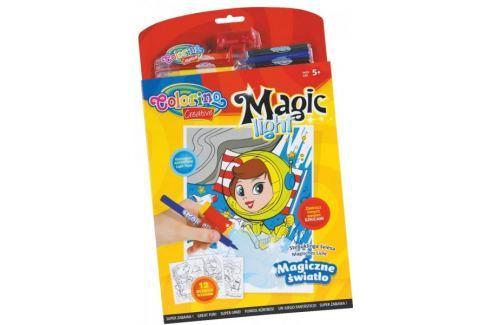 Omalovánky Colorino Magic light - 12 motivů Kreativní pomůcky