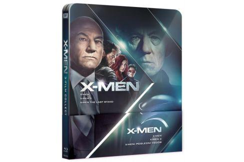 X-MEN Trilogie 1-3 (3BD): X-Men, X-Men 2, X-Men: Poslední vzdor   - Blu-ray Komiksové