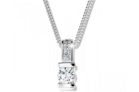 Modesi Stříbrný náhrdelník pro ženy M41094 stříbro 925/1000 Náhrdelníky