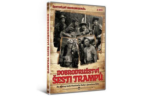 Dobrodružství šesti trampů (2DVD)   - DVD Dobrodružné