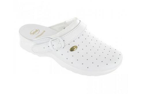 Scholl Zdravotní obuv CLOG RACY Byc-U - bílá (Velikost vel. 43) Zdravotní obuv