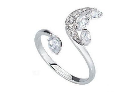 Morellato Ocelový prsten s půlměsícem Luna SAIZ14 (Obvod 56 mm) Prsteny