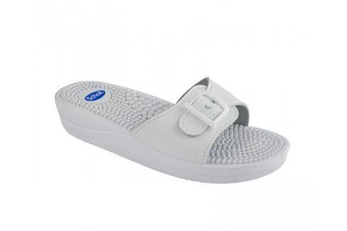 Scholl Zdravotní obuv NEW MASSAGE - bílá (Velikost vel. 36) Zdravotní obuv