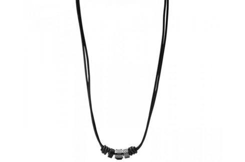 Fossil Pánský kožený náhrdelník JF00501797 Náhrdelníky