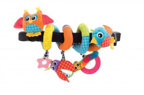 Playgro Spirála se zvířátky Závěsné hračky