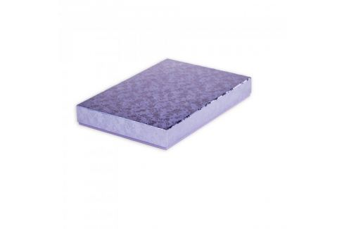 Dárková krabice Ilona 2, fialová - 30,5x21x4 cm (A4) Dárkové krabičky