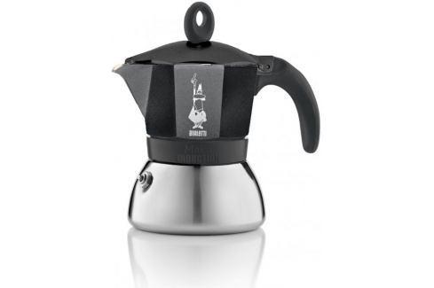 Bialetti Moka kávovar Induction, 6 porcí, černý Moka konvice, frenchpressy