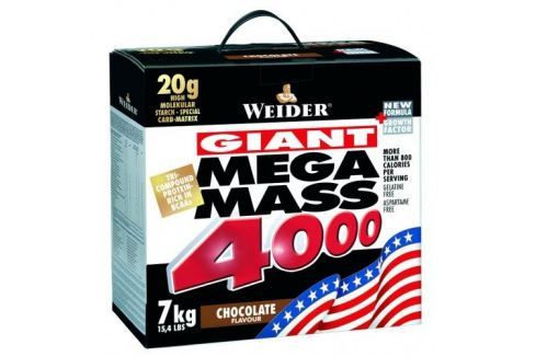 Weider Mega Mass 4000 - 7000g, Čokoláda Po tréninku