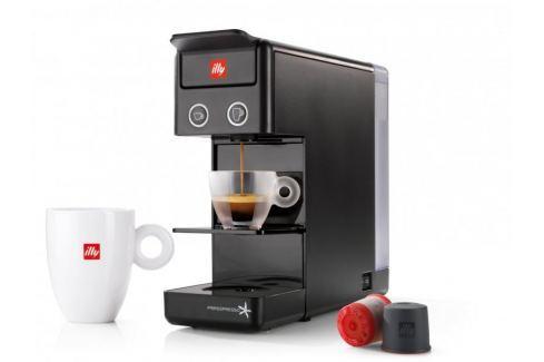illy Francis Y3.2 černý Espressa, kávovary