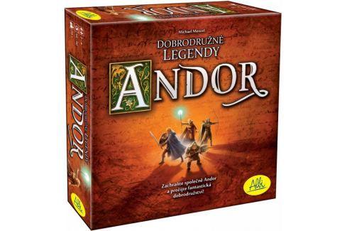 Albi Andor - dobrodružné legendy Rodinné hry