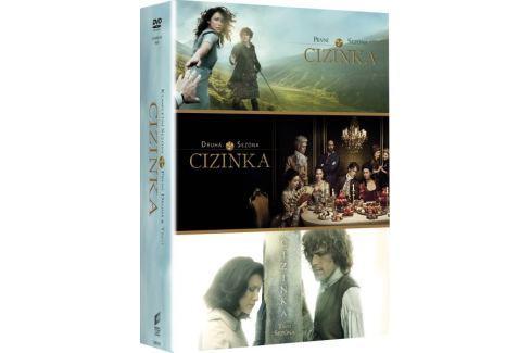 Cizinka - Komplet 1.-3. série (16DVD) - DVD Dobrodružné