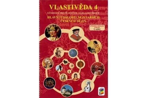 Vlastivěda 4 - Hlavní události nejstarších českých dějin (učebnice) Slovníky, učebnice