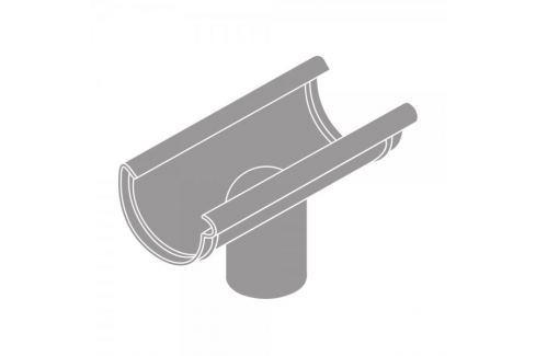 LanitPlast Kotlík DN 150/125 půlkulatý šedá barva Svody