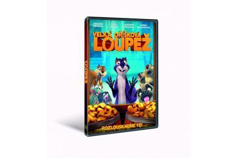 Velká oříšková loupež - DVD Animované