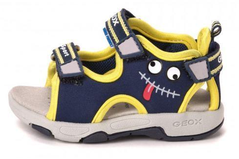 Geox chlapecké sandály Multy 20 modrá Obuv