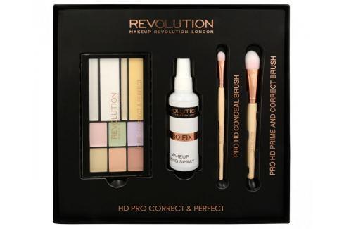 Makeup Revolution Sada na korekci pleti HD Pro Correct & Perfect Dárkové sady