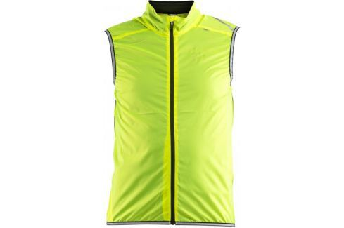 Craft Cyklovesta Lithe žlutá M Cyklistické vesty