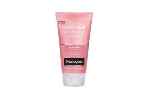 Neutrogena Osvěžující peeling s výtažkem z růžového grepu Visibly Clear Pink Grapefruit (Daily Scrub) 150 ml Pleťové peelingy