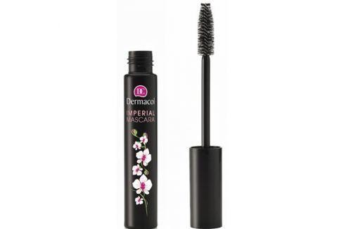 Dermacol Řasenka pro extra délku a objem (Imperial Mascara) 13 ml (Odstín Black) Řasenky