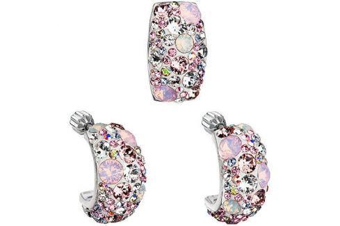Evolution Group Romantická sada šperků Magic Rose 39116.3 stříbro 925/1000 Soupravy šperků
