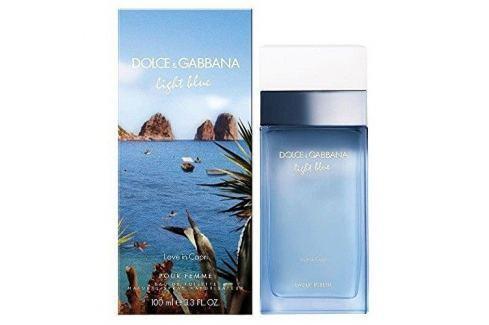 Dolce & Gabbana Light Blue Love In Capri Woman - EDT 50 ml Dámské parfémy