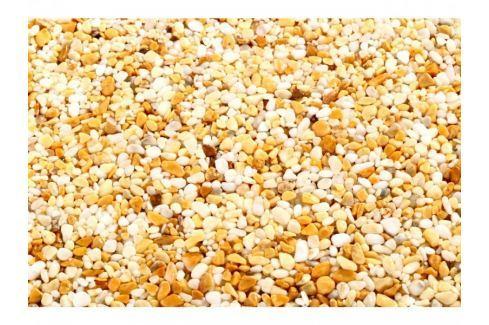 TOPSTONE Kamenný koberec Giallo Siena Exteriér hrubost zrna 4-7mm Mramorový kamínek