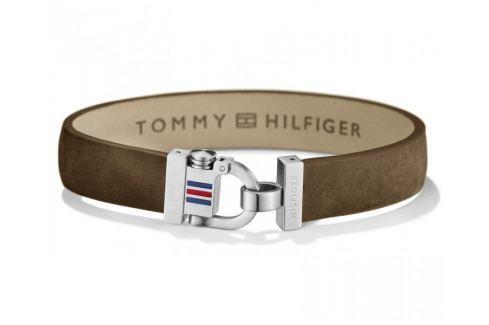 Tommy Hilfiger Hnědý kožený náramek TH2700768 Náramky
