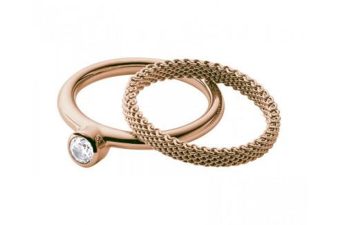 Skagen Sada dvou prstenů SKJ0852791 (Obvod 49 mm) Prsteny