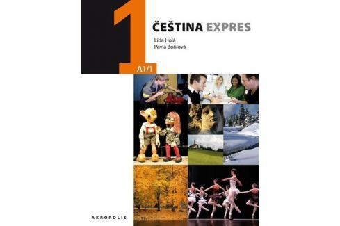 Holá Lída, Bořilová Pavla: Čeština expres 1 (A1/1) ukrajinská + CD Slovníky, učebnice