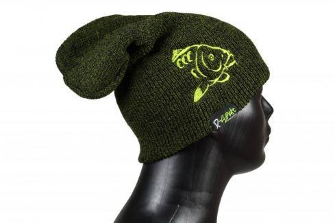 R-SPEKT Kulich Winter beanie zelenočerný Čepice, kšiltovky