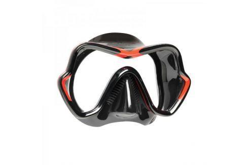 Mares Maska ONE VISION, černá/červená Potápěčské brýle, masky