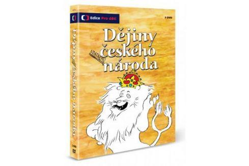 Dějiny udatného českého národa  (3DVD)   - DVD Animované