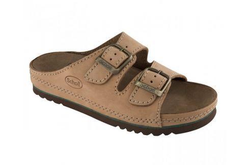 Scholl Zdravotní obuv AIR BAG Nublined-U - hnědá (Velikost vel. 36) Zdravotní obuv