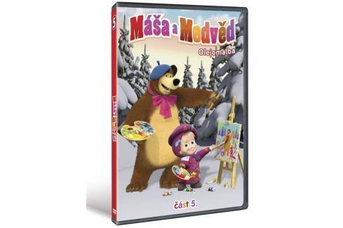 Máša a medvěd 5: Olejomalba   - DVD Dětské