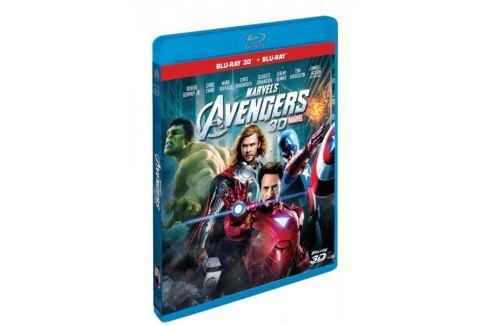 Avengers  3D+2D (2 disky)   - Blu-ray Komiksové