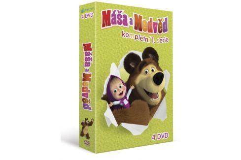 Máša a medvěd 1-4: Kolekce (4DVD)   - DVD Dětské